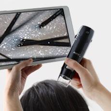 WIFI接続デジタル顕微鏡