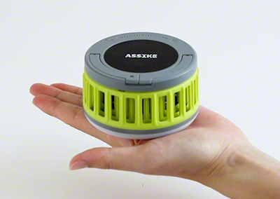モスキートキラーランタン 蚊取り ランタン LEDライト 折りたたみ式 薬剤不使用 UVライトでおびき寄せて退治
