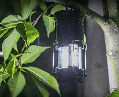 LEDランタン Sサイズ 火を使わないLED仕様だから火災の心配がなく安心 テントに引っ掛けたり、テーブルに置いたり 様々な使い方ができる LEDライト