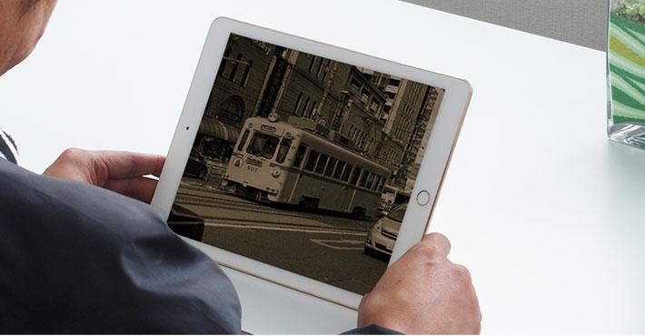 iPadで動画を見る