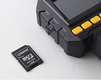 8GBのSDカード付き