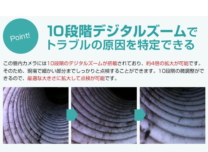 10段階デジタルズーム