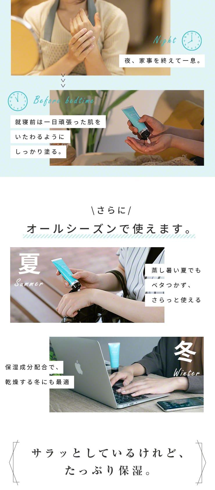 ハンドクリーム ギフト 女性 無香料 消毒できるハンドクリーム 日本製