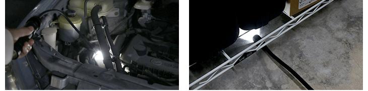 フレキシブルライト使用画像