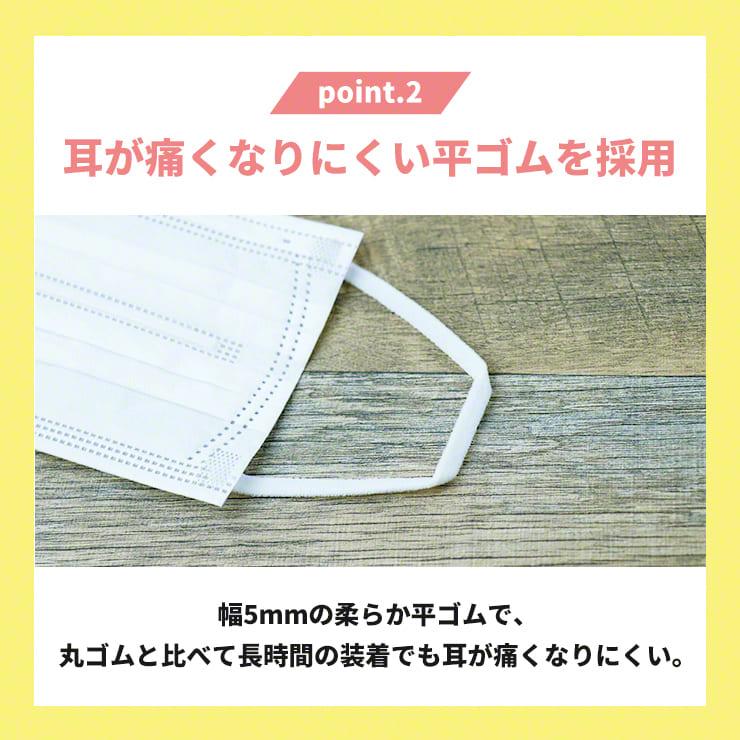 不織布 マスク 使い捨て 立体 使い捨てマスク 大人用 個包装