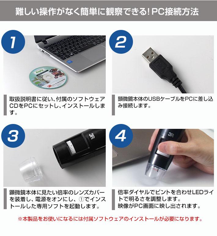 簡単にできるPC接続方法