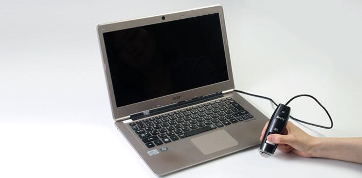 パソコン接続画像