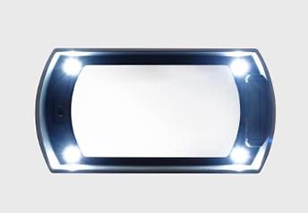 ライト点灯画像