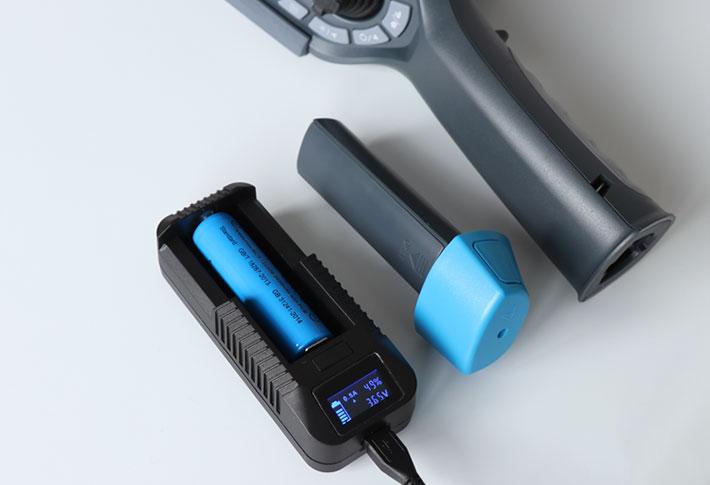 バッテリ充電イメージ